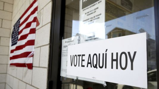 Supreme Court Strikes Down State Law Barring 'Political' Apparel In Polling Places
