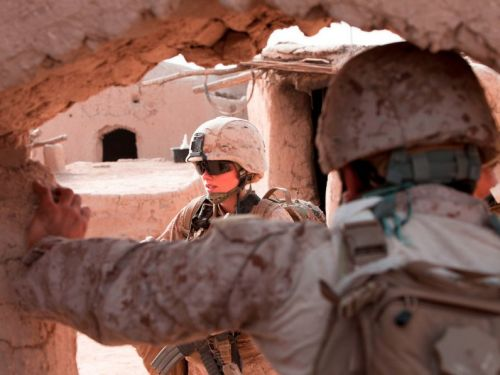 A female Marine officer is expected to graduate the Corps' grueling infantry officer course