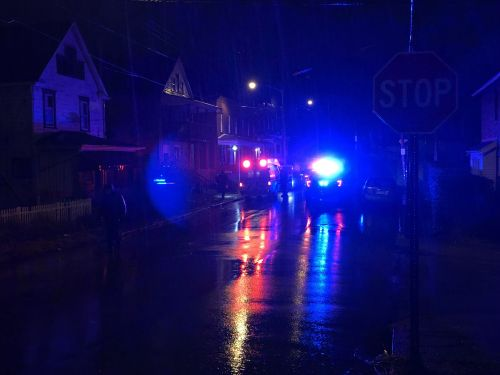 One person taken to the hospital following apparent shooting in Wilkinsburg