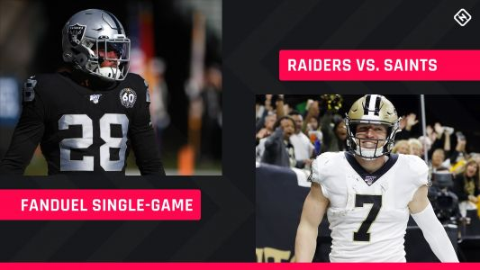 Monday Night Football FanDuel Picks: NFL DFS lineup advice for Week 2 Saints-Raiders single-game tournaments