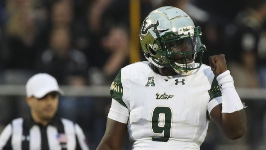 South Florida QB Quinton Flowers makes inappropriate gesture toward UCF crowd