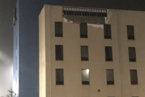 Tornado rips off portion of roof at Oklahoma casino