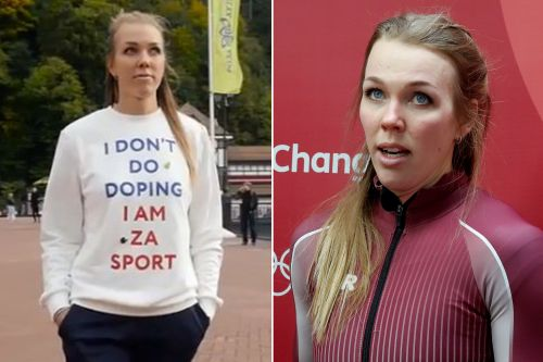 Russian athlete who appeared in anti-doping video busted for doping