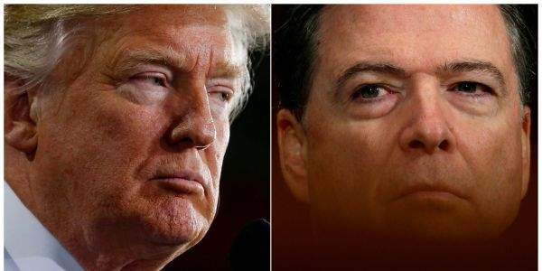 Trump renews attack on Comey, slams 'third-rate book that should never have been written'