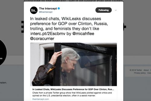 The Intercept's Transition From Guard Dog to Attack Dog for the Establishment