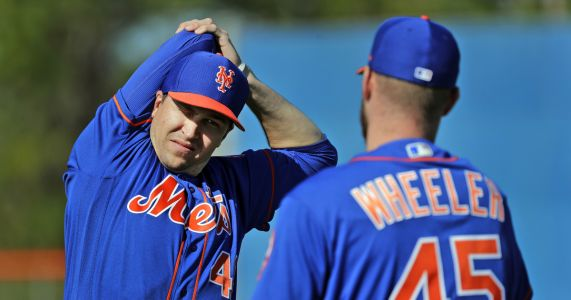 Led by deGrom, new-look Mets gear up for rugged NL East