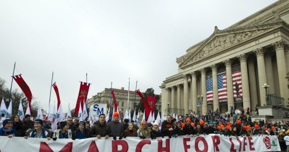 In video, Trump gives support to March for Life participants