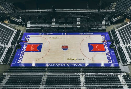 Kings reveal classic court for 35th anniversary in Sacramento