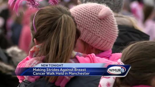 1,000 participate in Making Strides walk in Manchester
