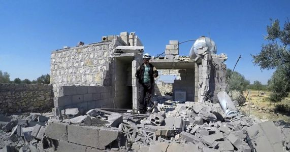 Syrian TV: Troops in control of northern Hama countryside
