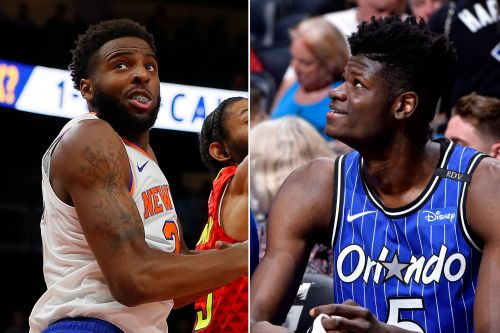 The young center showdown Knicks really wanted to see