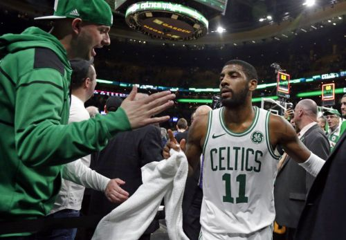 Kyrie Irving scores 43, Celtics beat Raptors in OT