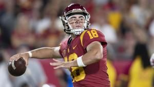 USC's Daniels heading to Georgia to compete for QB job