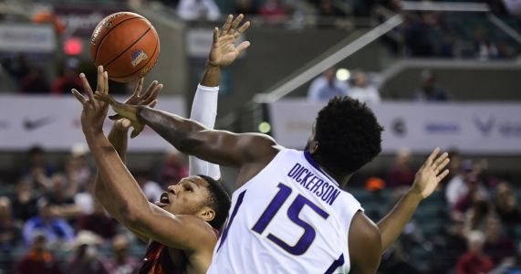 Three takeaways from the Huskies' 73-61 loss to No. 13 Virginia Tech in Atlantic City, N.J