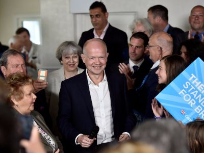 William Hague warns May not to 'shoot your foot off' with a Hard Brexit