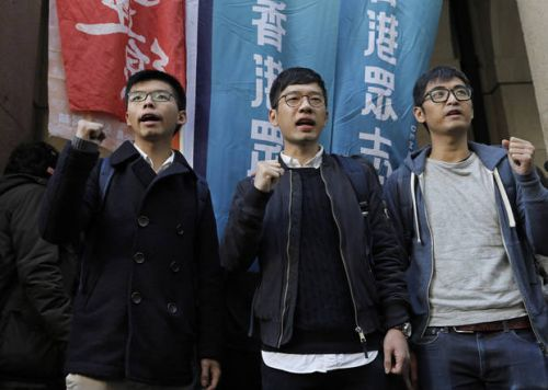 Hong Kong court to rule later on 3 activists' prison terms