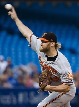 Morales hits two home runs as Blue Jays beat Orioles 5-3