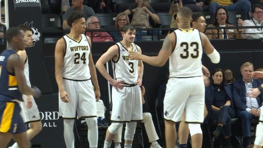 Magee propels Wofford past UNC Greensboro 80-50