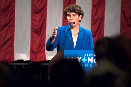 Trailing McConnell, Amy McGrath shakes up her campaign