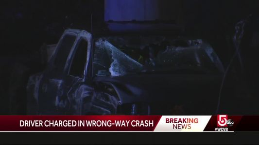 Man facing charges in wrong-way crash