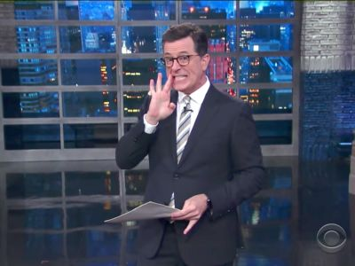 Stephen Colbert points out all the 'weird stuff' about Trump in James Comey's testimony