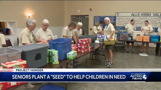 Project Hunger: Seniors plant a 'SEED' to help children in need