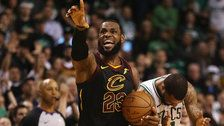 LeBron James Leads Cleveland Into The NBA Finals With Game 7 Win Over Boston