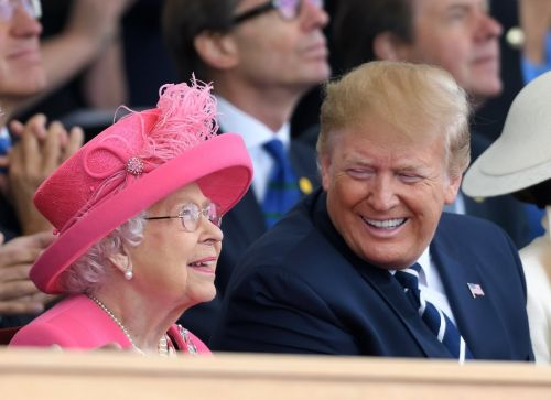 Donald Trump said the Queen's 'people' told him during his UK visit that she 'hadn't had so much fun in 25 years'