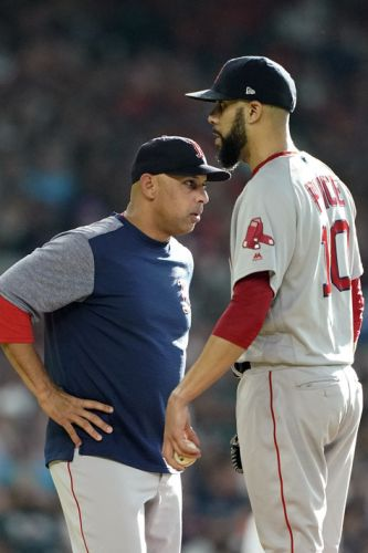Red Sox LHP Price leaves in 1st with illness