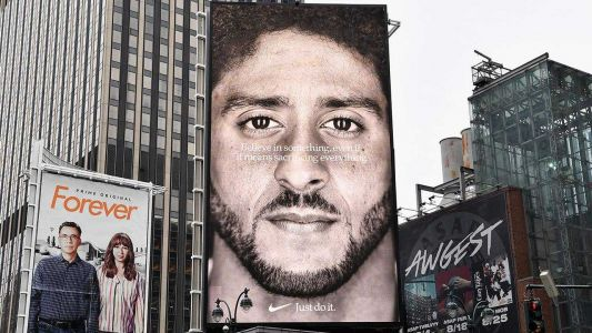 Colin Kaepernick's Nike ad wins Emmy for outstanding commercial
