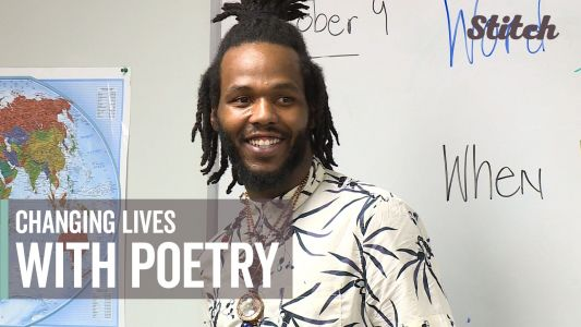 Poetry teacher inspires students to find their voice