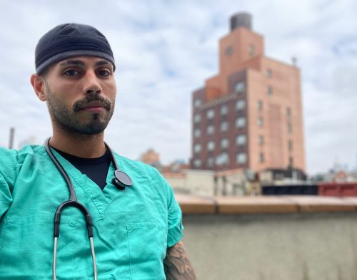A New York anesthesiologist laments his coronavirus patient's last words before intubation: 'Who's going to pay for it?'