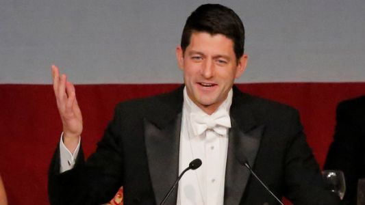 Paul Ryan Hilariously Roasted Donald Trump During The Al Smith Dinner