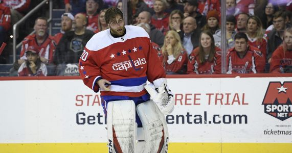 Capitals' Holtby to return from eye injury, start vs. Isles