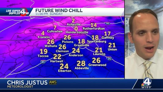Videocast: Frigid air settles across the area