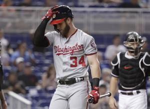 Max Scherzer earns 8th win as Nationals beat Marlins 9-5