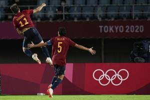 Spain, Brazil advance to semifinals of Olympic men's soccer