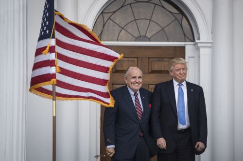 Rudy Giuliani may be joining Trump's legal team