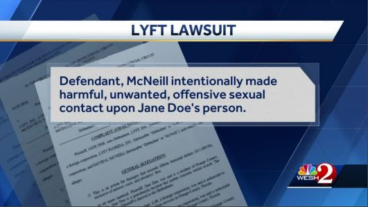 Orlando woman sues Lyft after sexual assault by driver