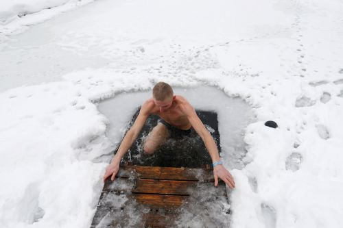 The European Sauna Marathon includes 19 freezing ice baths, hot tub dips, and steamy saunas. It may support a key 'third pillar' of physical fitness