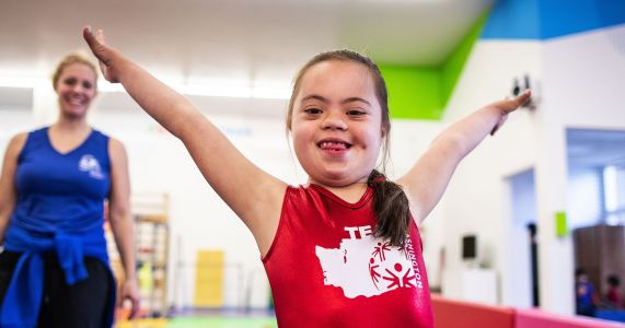 Meet the youngest Special Olympics USA Games competitor: 8-year-old gymnast Frannie Ronan