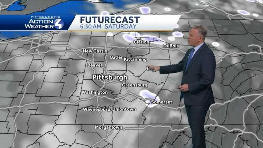 Flurries overnight, into early Saturday morning