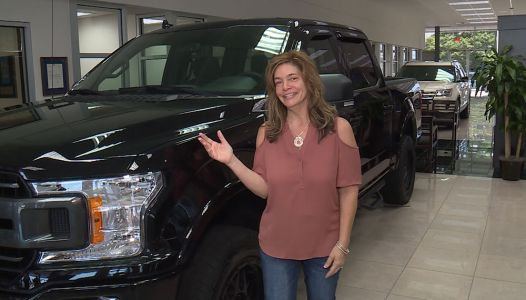 Upstate woman wins new Ford truck
