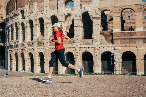 A 48-year-old CEO set out to run 100 marathons in 100 days. Here's how she kept herself sane and healthy