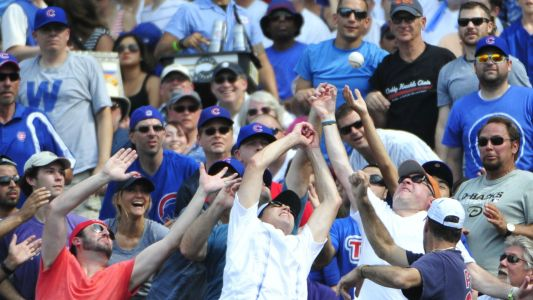 Cubs, Javier Baez give young fan signed baseball after adult steals foul ball