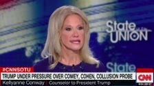 Kellyanne Conway Flips Out When Asked About Her Husband's Trump-Trolling Tweets