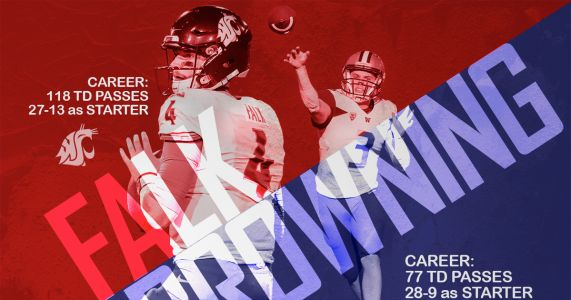 These are Luke Falk and Jake Browning's best moments for Cougars and Huskies