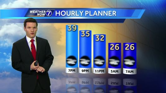 Comfortable Friday evening, winter weather returns later this weekend
