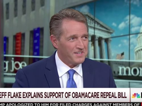 GOP senator admits new healthcare bill could harm people with preexisting conditions, but says it won't happen