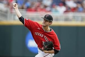 Masters' hit gives Tx Tech 5-4 win at CWS, sends Hogs home